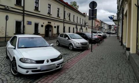 parking na ulicy Piotra Skargi