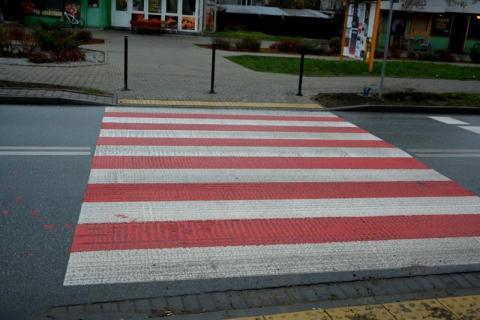 Nowe przejścia dla pieszych