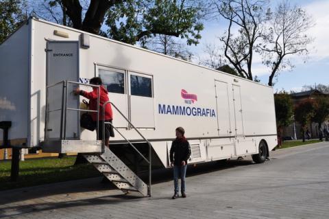 Bezpłatna mammografia. Chcą walczyć z rakiem na krynickim deptaku