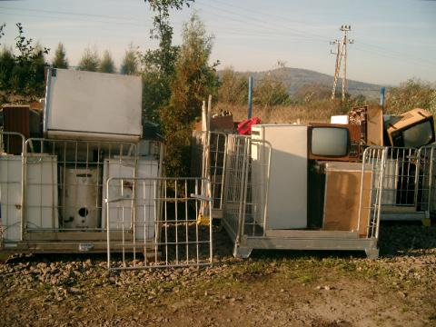 Kamionka Wielka zbiórka odpadów wielkogabarytowych