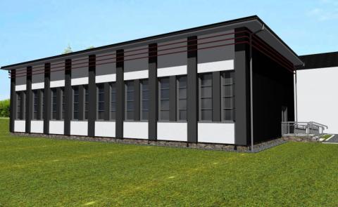W Jasiennej i Posadowej Mogilskiej gmina zbuduje nowoczesne sale gimnastyczne
