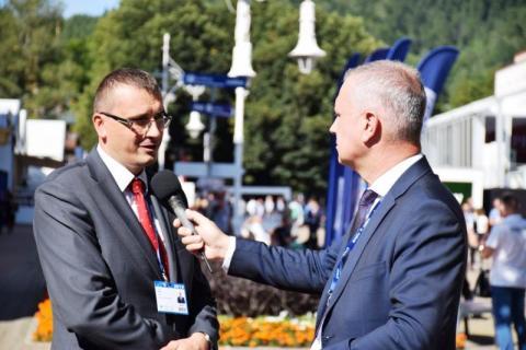 Burmistrz Piotr Ryba o nowym centrum konferencyjnym