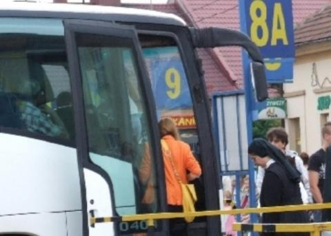dworzec autobusowy w Limanowej