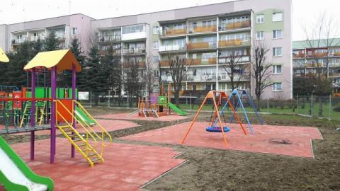 Plac zabaw na Wojska Polskiego