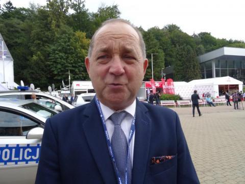 Starosta nowosądecki Marek Pławiak