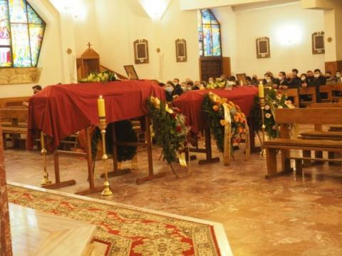 Chomranice pożegnały zmarłe małżeństwo. Beata Szydło przesłała kondolencje
