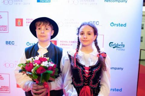 Dzieci z Sądecczyzny zaśpiewały dla duńskiej pary książęcej