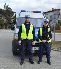 Policja ratuje życie