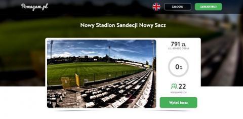 Zbiórka na stadion Sandecji