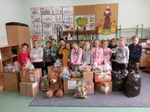 Otwórz swoje serce wraz z uczniami ze szkoły podstawowej w Łabowej