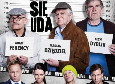 """Konkurs: wygraj bilety do kina Sokół na film """"Na bank się uda"""""""