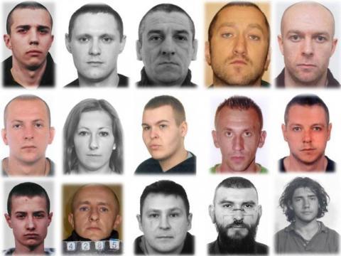Dilerzy i handlarze narkotyków z Małopolski. Są poszukiwani listami gończymi