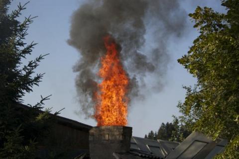 To jużchyba plaga. Kolejne pożary sadzy w kominach