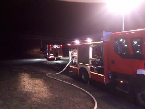 Tragedia w gminie Chełmiec. Z domu wydobywał się dym, w środku znaleziono zwłoki