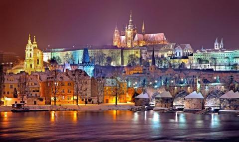 Praga, zamek na Hradczanach. Fot Julius Silver/Pixabay