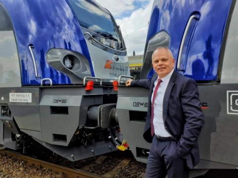 Rewolucja na torach. Czy sądecki Newag będzie produkować pociągi na wodór?