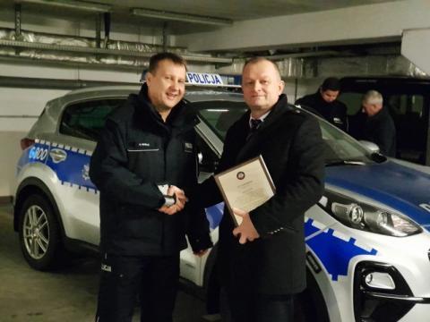 Korzenna: nowy radiowóz dla komisariatu policji