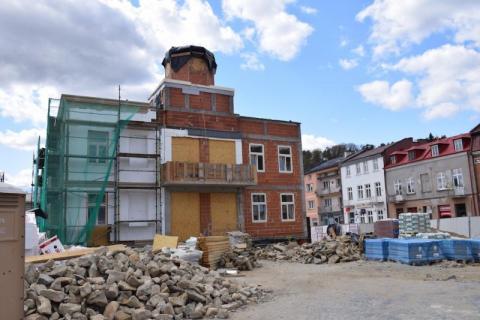 Muszyna: budowa galicyjskiego ratusza na finiszu. Co pomieści obiekt?