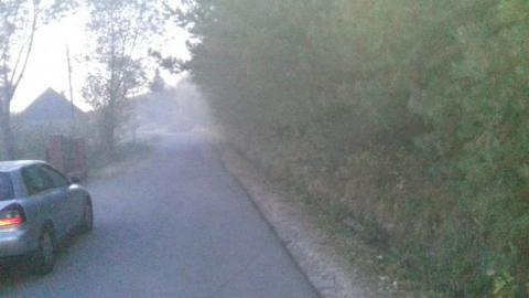 To nie zasłona dymna! Zaduszą nas tutaj starymi szmatami w piecach!