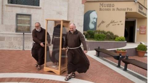 Relikwie o. Pio