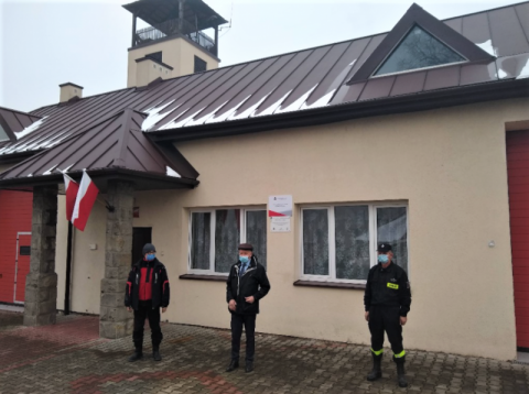 Gródek: remiza Ochotniczej Straży Pożarnej w Rożnowie już po remoncie