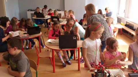Na Sądecczyźnie już 4-latki konstruują roboty! Bo NOWY SĄCZ TO NOWE TECHNOLOGIE