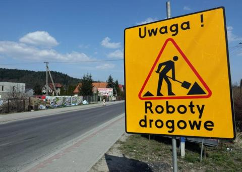 Uwaga, ten zjazd z krajówki będzie w gminie Chełmiec nieprzejezdny