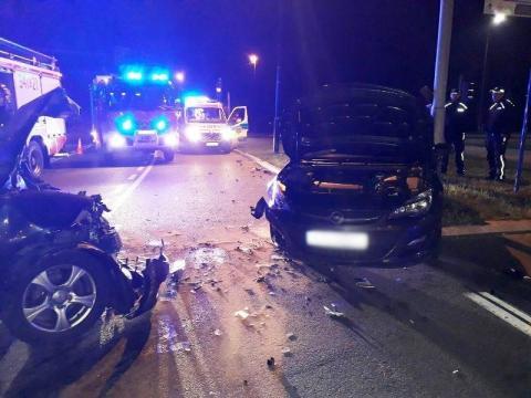 Zabójcze sądeckie rondo czyha na kierowców nawet w nocy