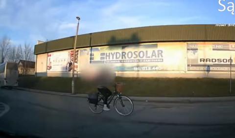 Znaki dotyczą także rowerzystów, ale nie wszyscy o tym pamiętają. Zobaczcie sami