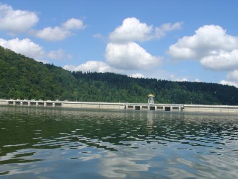 Zapora wodna w Rożnowie, fot. arch. Sadeczanin.info