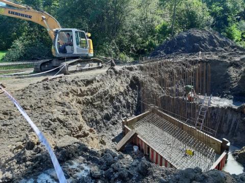 Ruszyła budowa mostu w Słowikowej. Kiedy będzie można z niego korzystać?