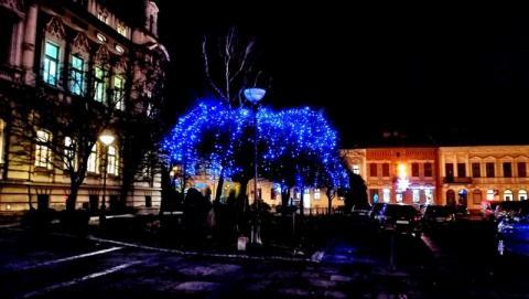 Ozdoby świąteczne w Rynku