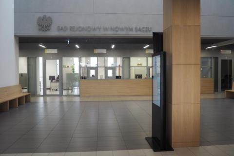 Sąd Rejonowy w Nowym Sączu, fot. Iga Michalec