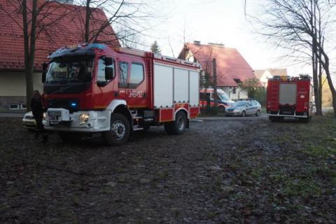 Tragedia w Koniuszowej. W garażu znaleźli ciało około 35-letniej mieszkanki