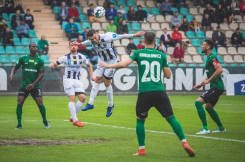 Porażka w ostatnim meczu sezonu. Sandecja straciła w Łęcznej aż 3 gole
