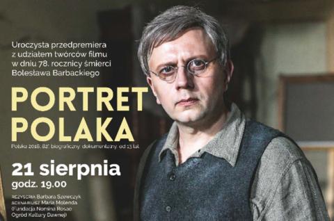 """Konkurs: wygraj bilety do kina Sokół na przedpremierę filmu """"Portret Polaka"""""""