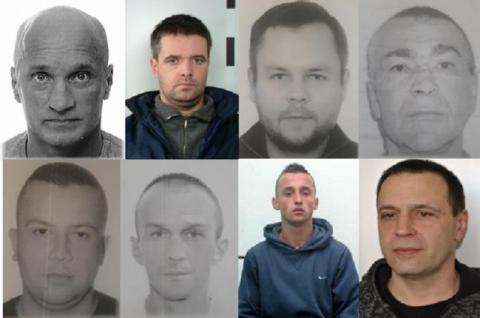 Kolejni przestępcy poszukiwani listami gończymi. Poznajesz te osoby?