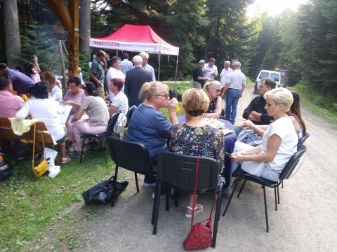 Spotkanie SKT Sądeczanin w Chełmcu