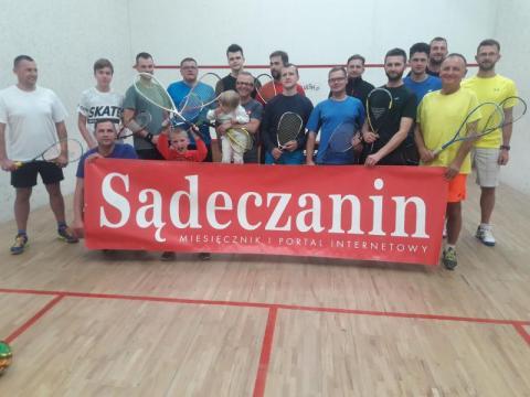 pierwszy turniej squasha z cyklu Grand Prix Nowego Sącza sezon 2019/20