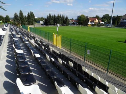 Stadion Sandecji, fot. Iga Michalec