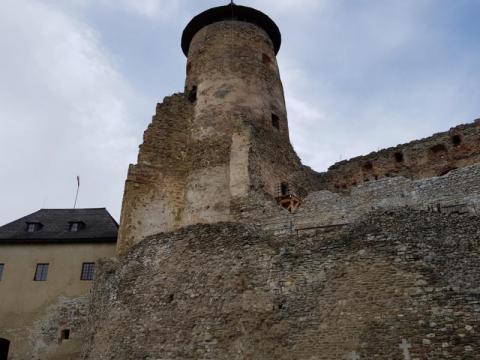 Zamek w Starej Lubovni: niby na Słowacji a z polskimi wspomnieniami