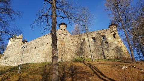 Zamek w Starej Lubowli