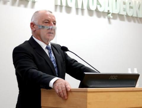 Starosta Marek Kwiatkowski: Pandemia nie przeszkadza nam w inwestowaniu