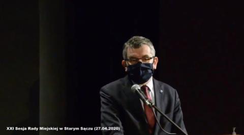 Stary Sącz: petycje w sprawie COVID-19 i szczepień bezzasadne. Sesja Live