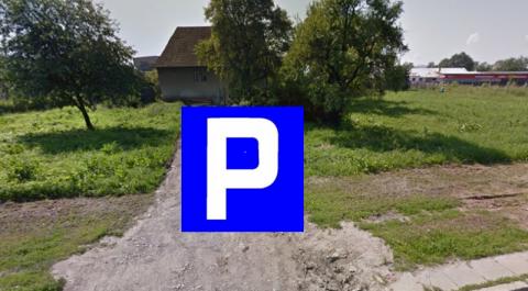 To własnie tu ma powstać parking na 32 auta dla mieszkańców Gorzkowa