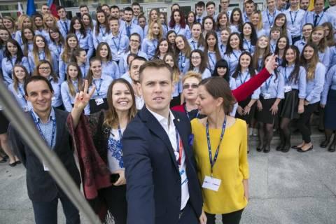 wolontariusze Forum Ekonomicznego