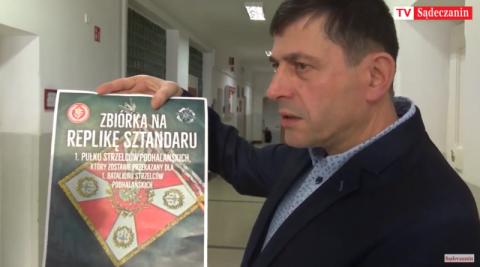 Podhalańczycy odzyskają swój zaginiony sztandar, ale potrzebne jest wsparcie
