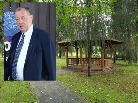 Mieszkańcy Wysowej nie chcą w parku pomnika Jana Szyszki. Co na to Wójt?
