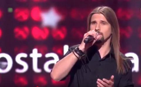 Fan rocka z Sącza śpiewał przebój Krawczyka i wygrał finał telewizyjnego show