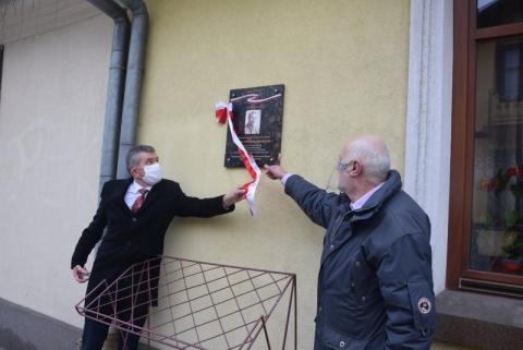 Uczcili porucznika Władysława Świebockiego, który walczył pod Dytiatynem